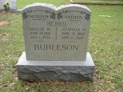 Sarah Sallie <i>Hicks</i> Burleson