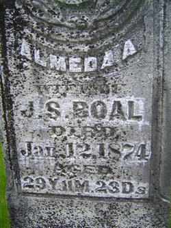 Almeda Ann <i>Foster</i> Boal