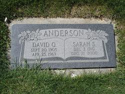 Sarah <i>Smith</i> Anderson