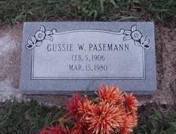 Gustave W Gussie Pasemann