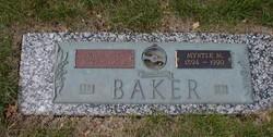 Myrtle May <i>Hudson</i> Baker