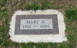 Mary A Asplund
