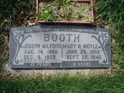Mary R. <i>Moyle</i> Booth