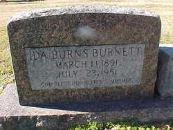 Ida <i>Burns</i> Burnett