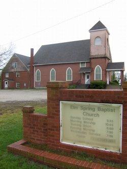 Elm Spring Baptist Church Cemetery