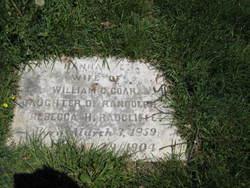 Hannah E. <i>Radcliff</i> Coar