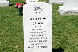 Sgt Alan Wayne Shaw