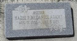 Hazel R. <i>McDaniel</i> Adams