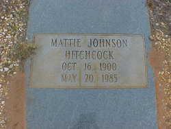 Mattie Camille <i>Johnson</i> Hitchcock