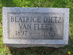 Beatrice <i>Dietz</i> Van Fleet
