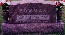Isabella Margrett <i>Mahood</i> Bowman