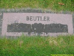 Anna M. <i>Thompson</i> Beutler