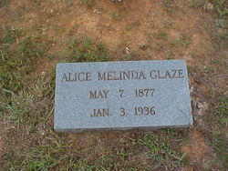 Alice Melinda <i>Allen</i> Glaze