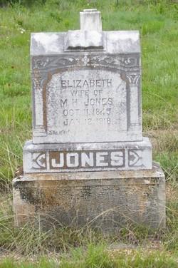 Elizabeth Ann <i>Blacklock</i> Jones