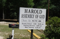 Harold Assembly of God Church Cemetery