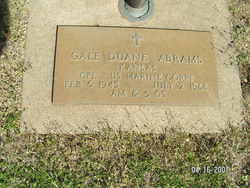 Cpl Gale Duane Abrams