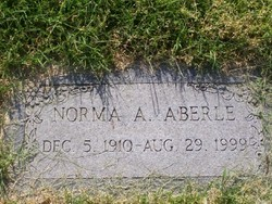 Norma A Aberle