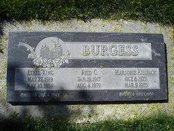 Ethel <i>King</i> Burgess
