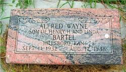 Alfred Wayne Bartel