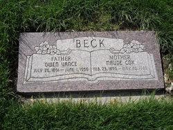 Maude Ann <i>Cox</i> Beck