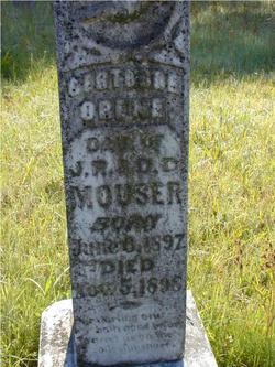 Gertrude Orene Mouser