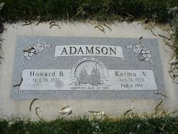 Karma R. <i>VanWagoner</i> Adamson