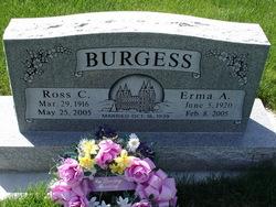 Erma Frances <i>Atwood</i> Burgess