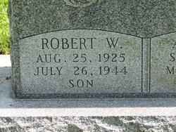 PFC Robert W. Bobby Jansen
