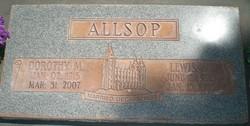 Lewis William Allsop