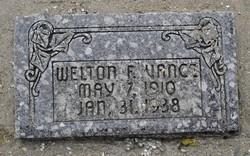 Welton Ferrell Vance