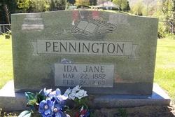 Ida Jane Pennington