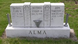 Timothy Joe Alma