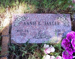 Annie L Jaeger