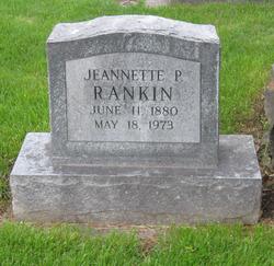 Jeannette P. Rankin