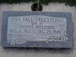 Ann <i>Fall</i> Freestone