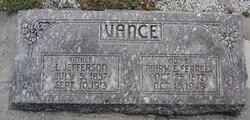 Mary Frances <i>Ferrell</i> Vance