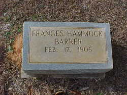 Frances Hammock Barker