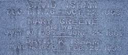 Mary <i>Greene</i> Isham