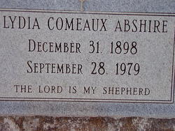 Lydia <i>Comeaux</i> Abshire