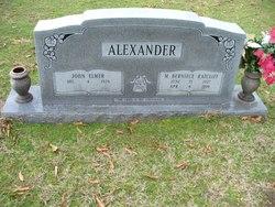 Mary Bernice <i>Ratcliff</i> Alexander