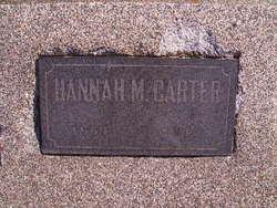 Hannah Matilda <i>Kimbrel</i> Carter