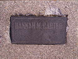 Hannah Matilda <i>Kimbel</i> Carter