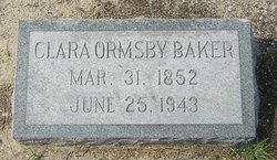 Clara <i>Ormsby</i> Baker