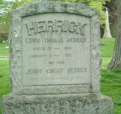 Jenny <i>Knight</i> Herrick