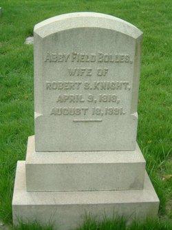 Abby Field <i>Bolles</i> Knight