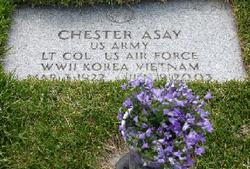 LTC Chester Harris Chet Asay