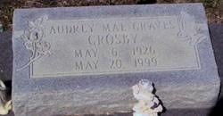 Audrey Mae <i>Graves</i> Crosby