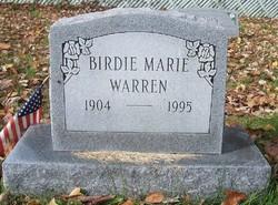 Birdie Marie Warren