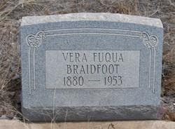 Vera Fuqua Braidfoot
