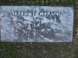 Sgt Albert H. Gleason